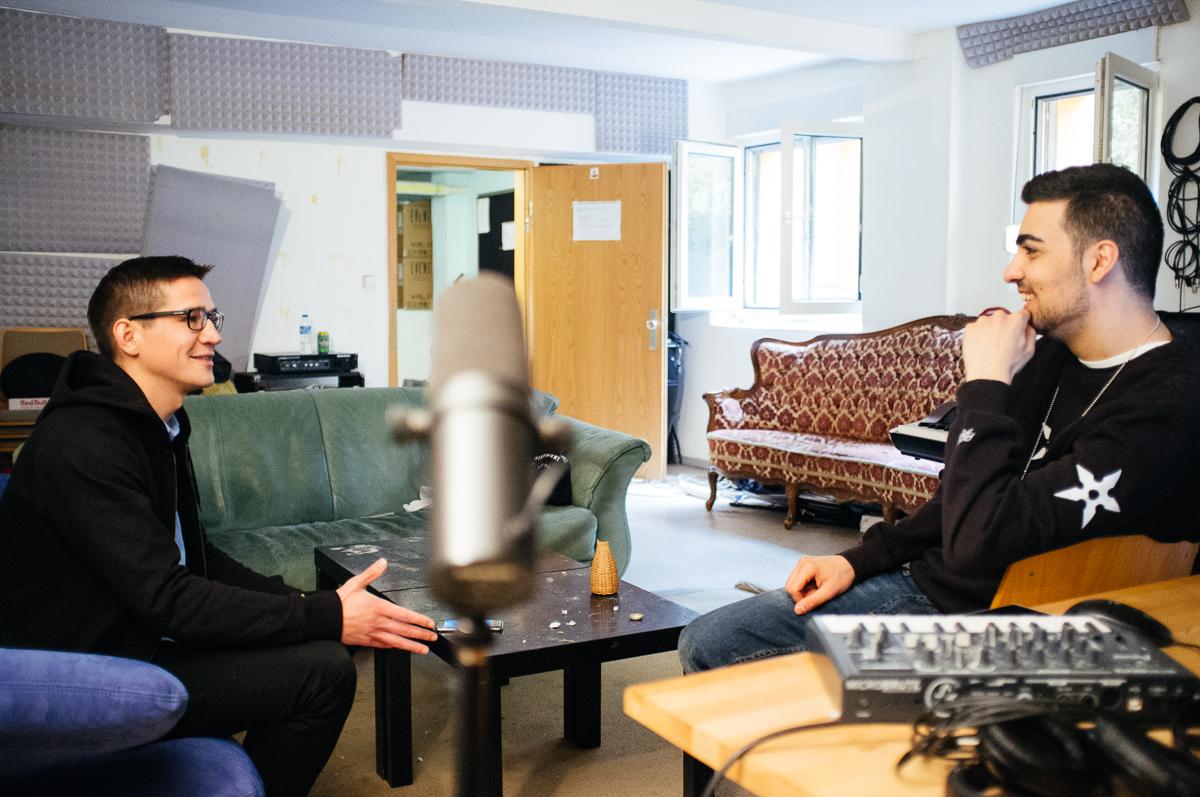 Zu Gast bei BRKN im Studio - renk. Magazin