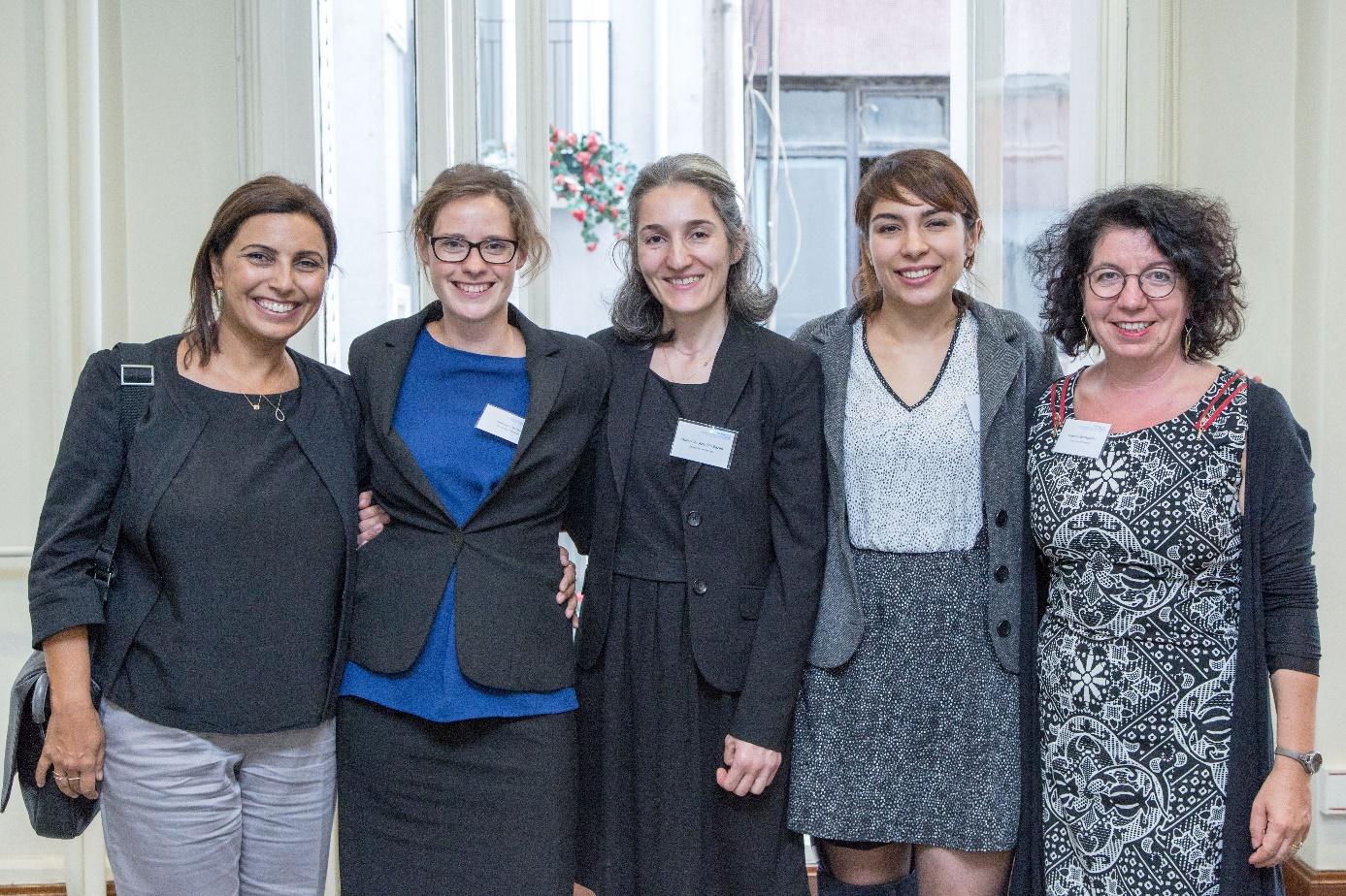 Das Forschungsteam, von links: Sevgi Ucan-Cubukcu, Charlotte Binder, Münevver Azizoğlu-Bazan, Aslı Polatdemir, Yasemin Karakaşoğlu