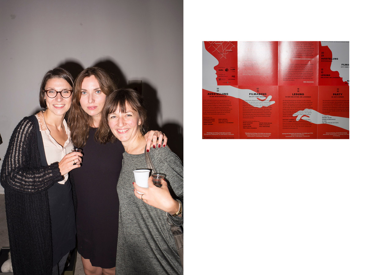Drei der Kuratorinnen der Ausstellung
