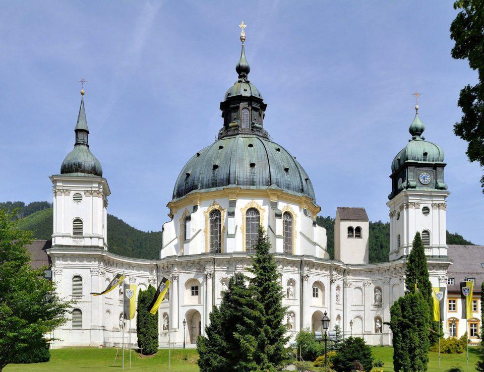 Kloster Ettal in Bayern.