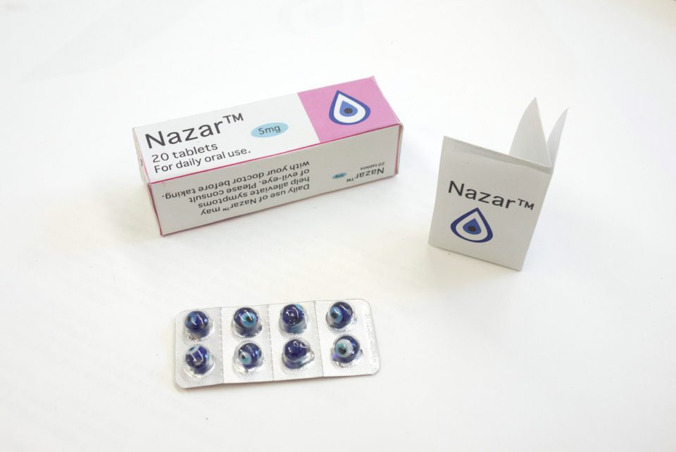 Nazar - The Evil Eye - renk