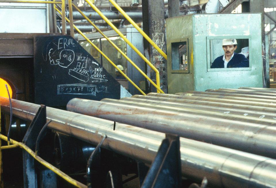Stahlarbeiter, Mülheim a.d. Ruhr